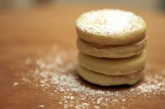 The sugar cookies I made for the sandwiches had the texture of butter cookies, but the best flavor ever! You'll never guess what the secret ingredient was that made these so amazing!