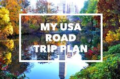 Check out my new blog post: ♚ My USA Roadtrip Plan ♚ http://www.travarella.com/2015/07/my-usa-roadtrip-plan.html