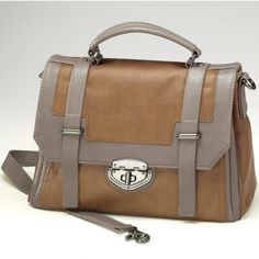 Colorblock Satchel from Monroe and Main.