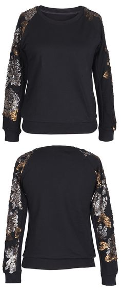 This soft sweatshirt is ideal for transitional weather. Featuring a cozy round collar, this printing sweatshirt exudes comfort. Keep you warm all the fall at Cupshe.com