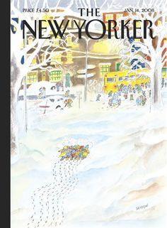 Jean-Jacques Sempé-The New Yorker