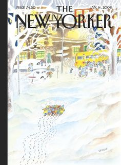 Jean-Jacques Sempé | The New Yorker 2008 - Together