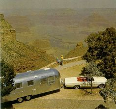 See - told you a Galaxie would pull an Airstream nicely. Airstream Travel Trailers, Camper Caravan, Vintage Campers Trailers, Vintage Caravans, Camper Trailers, Airstream Sport, Retro Campers, Happy Campers, Airstream Vintage