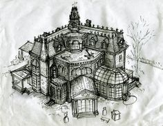 B-Movie Blitzkrieg: Blitzkrieg Intermission: Drawing The Addams Family House Part 1: The Research