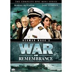 WAR AND REMEMBRANCE by Herman Wouk --  Sequel to WINDS OF WAR.  Wonderful books.