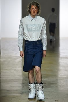 Hood by Air Spring 2014 Menswear - Collection - Gallery - Style.com