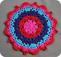 Not your grandma's doily: free tutorial