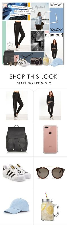 """""Style is a reflection of your attitude and your personality."" - Shawn Ashmore"" by getterkagu ❤ liked on Polyvore featuring Topshop, Belkin, adidas Originals, STELLA McCARTNEY, Sole Society and Chloé"