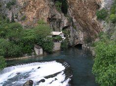 Source of the Buna river and the Blagaj Tekija - Wikipedia