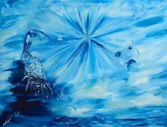 "Saatchi Art Artist Nicole Theresia Spitzwieser; Painting, ""Lauf des Lebens/circle of life"" #art"