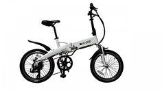 2015 e-JOE Epik SE Frosty White Folding Electric Bike - http://www.bicyclestoredirect.com/2015-e-joe-epik-se-frosty-white-folding-electric-bike/