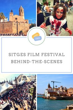 Going to Sitges, Catalonia? Be sure to visit the famous Sitges Film Festival and the Sitges Zombie Walk on the beach promenade.