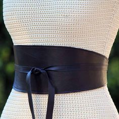 Hey, I found this really awesome Etsy listing at https://www.etsy.com/listing/121579988/reversible-black-leather-wide-obi-wrap