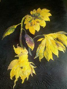 Beautiful Art Quilt by Jessica Jones of Jessica's Quilting Studio