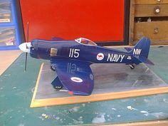 Kit manufacture: Hobbycraft Scale: 1/32 Type: Hawker Sea fury (Royal Autralian Navy) Paints and colours used: Tamiya acrylics by Zero