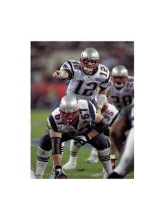 Tom Brady... Best QB ever.. <3
