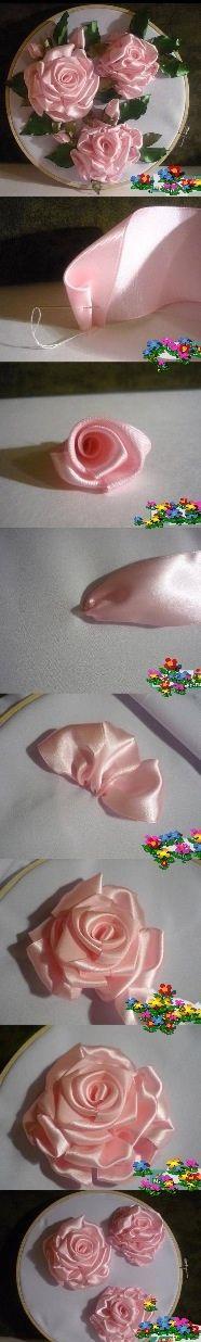Rosas con tutorial