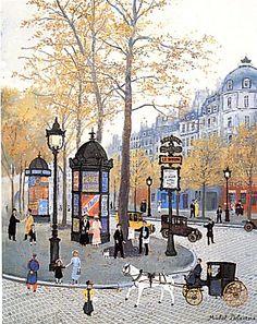 Michel Delacroix, Boulevard des Capucines