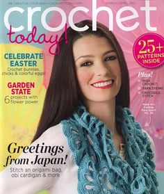 Are you looking to find the best crochet magazine to fit your needs? There are many crochet magazines available. I love going to Barnes and Noble. Crochet Chart, Crochet Stitches, Free Crochet, Knit Crochet, Crochet Sweaters, Ravelry Crochet, Crochet Scarfs, Knitting Magazine, Crochet Magazine