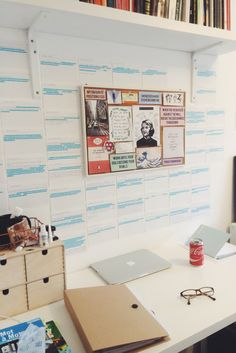 """hstudies: """" English literature quotes on the wall for my retake. Now time for an…"""