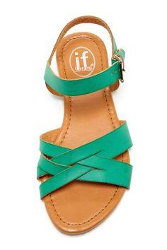 Carrini Woven Strap Sandal