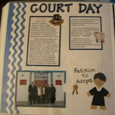Court day-- we will finalize adoption in November. Can't wait to scrapbook the day!!!