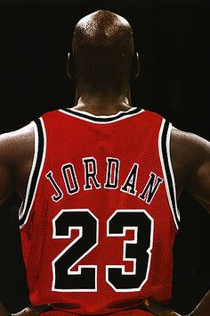 "Michael Jordan is arguably the greatest NBA player of all time. He played 15 full seasons in the NBA. In Michael Jordan was named ""Rookie of the Year. Basketball Tricks, Jordan Basketball, Love And Basketball, Basketball Legends, Bulls Basketball, Basketball Quotes, Nba Players, Basketball Players, Michael B Jordan"