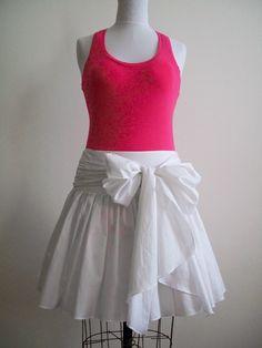 ON SALE - Silk-blend Full Skirt - Ready to Ship. $115.00, via Etsy.