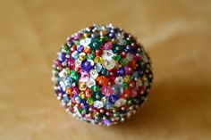 DIY: Sequin Sparkle Christmas Ornament // Caught On A Whim by Caught On A Whim, via Flickr