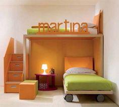 Dormitorios infantiles compartidos modernos Más