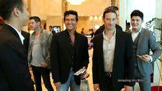 Sebastien, Urs and Carlos