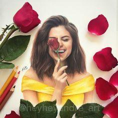 Selena Gomez Fanart so fabul