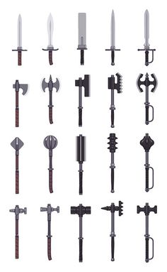 Weapons_Final by Rob Laro, via Flickr