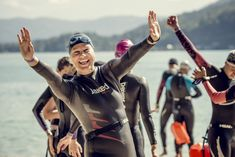 """Open Water Austria! Nothing`s more beautiful than the smile of a happy open water swimmer! """"Woerthersee-Swim"""", 5th & 6th, 2020! Open Water, Swimming, Beautiful, Swim"""
