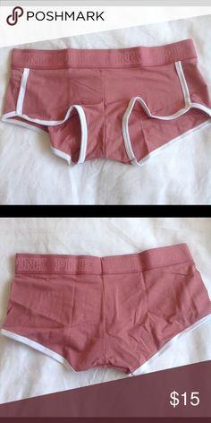 b051ae76ea NWT VS Pink boyshort underwear in Soft Begonia Brand new Victoria s Secret  boyshorts in Soft Begonia