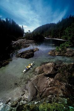 Someday I would love to paddle Haida Gwaii Haida Gwaii, Canadian Travel, Canada, Kayaking, Canoeing, New York Travel, Vancouver Island, Rafting, British Columbia