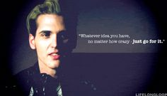 My Chemical Romance ~ Mikey Way Mcr Quotes, Mcr Memes, Band Quotes, Band Memes, Music Quotes, Emo Bands, Music Bands, Kobra Kid, My Chemical Romance Memes
