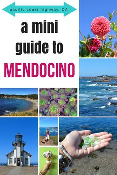 Mini Guide to Mendocino: A Weekend Away My favorite new coastal town in California: Mendocino! >> what to see, where to eat, and what to do in Mendocino Fort Bragg California, Mendocino California, Mendocino Coast, California Vacation, California Dreamin', Northern California Travel, Weekend Trips, Weekend Getaways, Day Trips