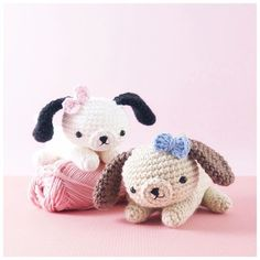 Oooh those cheeky little puppies, they have been quiet for too long now. They have just got to be up to something!!  (Amigurumi pattern available to purchase on Etsy).