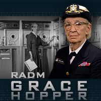 "Did you know #USNavy RADM Hopper coined the term ""computer bug?"""