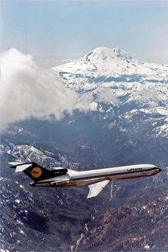"""Lufthansa B727 230ADV """"europa jet"""""""