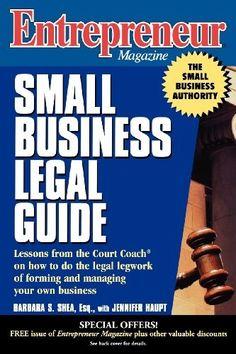 Entrepreneur Magazine: Small Business Legal Guide... A must READ 4 #Entrepreneurs #NECMktg