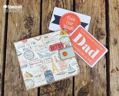 Handmade Father's Day Wallet Tutorial & Free Printable Vouchers