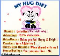 The best Hug diet ever!