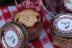 Mason Jar Pies!