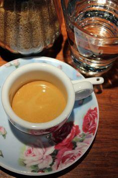 Romantic espresso. Café Samovarbar, Suomenlinna, Helsinki, Finland. #espresso
