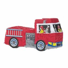 Fire Engine Pinata | 1 ct
