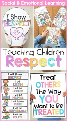 Respect & Gratitude – Social Emotional Learning & Character Education Curriculum Respect & Gratitude – Social Emotional Learning & Character Education Curriculum,Healthy a Classroom Ecosystem Related posts:Emotions Task Boxes - Secrets for Teaching. Respect Activities, Teaching Kids Respect, Preschool Activities, Teaching Kindness, Bible Activities For Kids, Social Skills Activities, Teaching Manners, Motor Activities, Modern Classroom