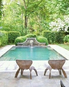 Stock Tank Swimming Pool Ideas, Get Swimming pool designs featuring new swimming pool ideas like glass wall swimming pools, infinity swimming pools, indoor pools and Mid Century Modern Pools. Find and save ideas about Swimming pool designs. Outdoor Rooms, Outdoor Living, Outdoor Furniture, Outdoor Decor, Pool Landscape Design, Garden Design, Design Jardin, Luxury Pools, Small Pools