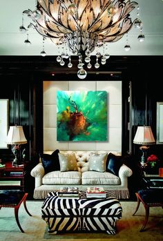 """Unexpected beauty"" - painting by Dan Bunea, living abstract paintings, www.danbunea.ro"